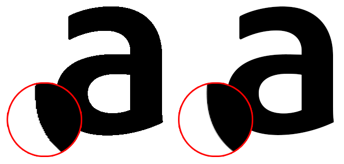 anti-aliasing example 2