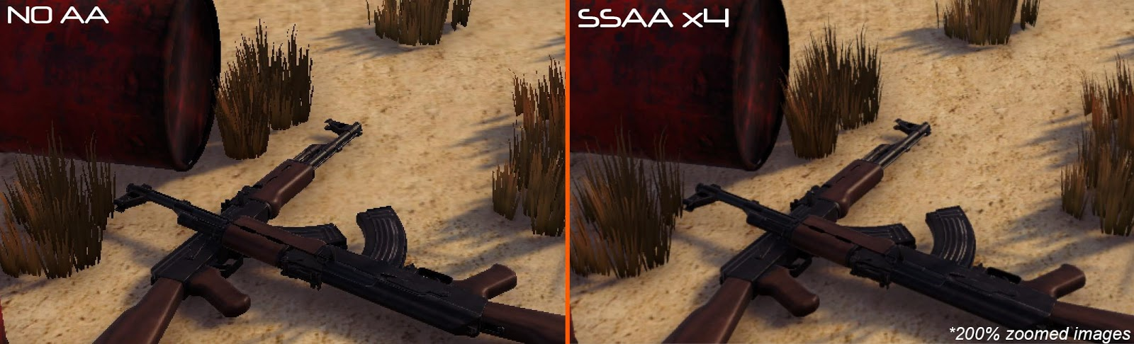SSAA example
