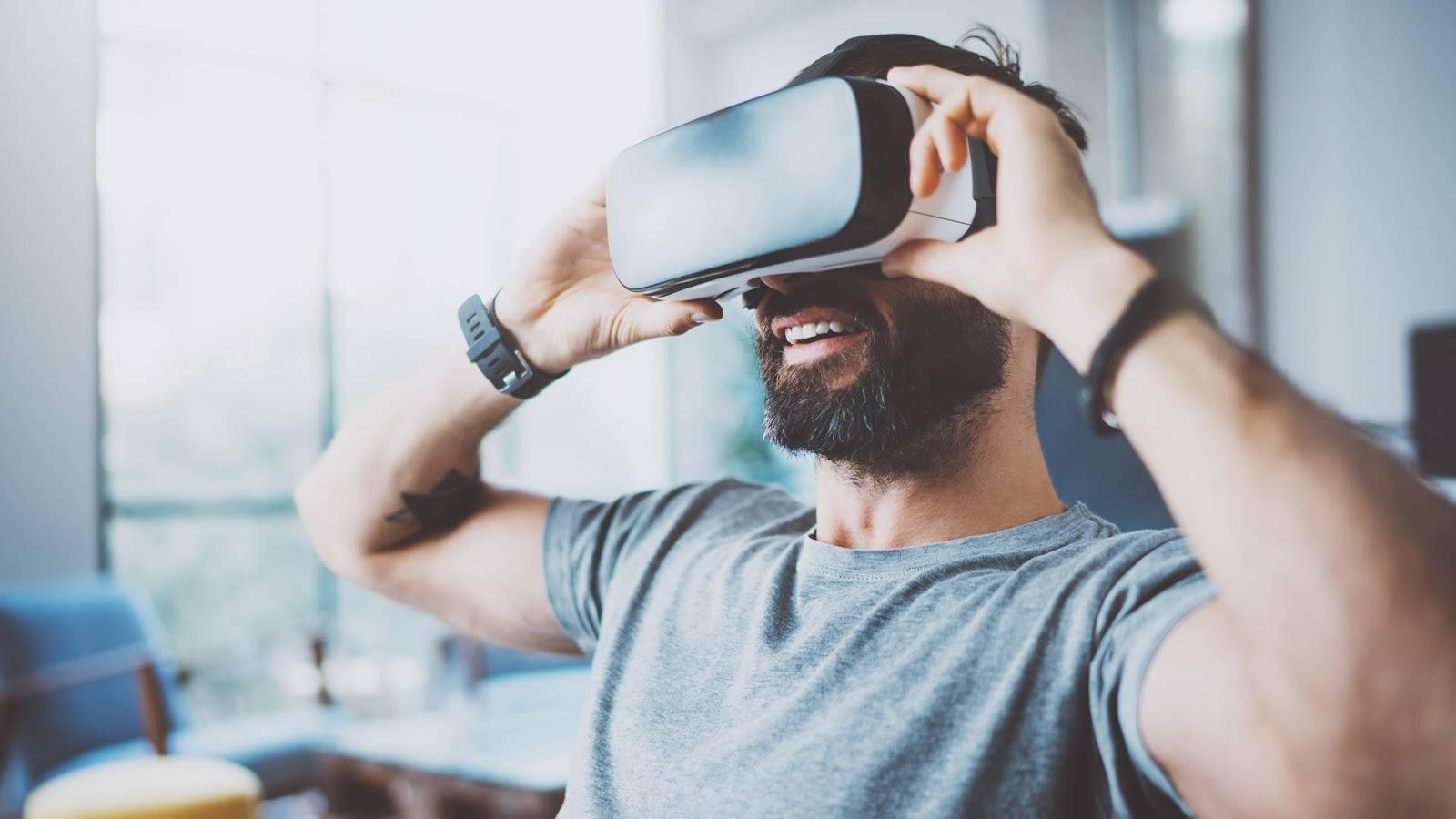 838ed5bffe9f The major task of the virtual reality (VR) developers is to ensure full  immersion in the VR world. This means that the conscious part of the brain  ...